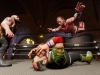 WWE2K BG Big Show vs HBK vs Sgt Slaughter
