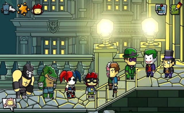 SCRIBBLENAUTS UNMASKED - A DC COMICS ADVENTURE - Screen - Batman Villains