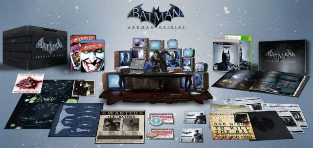 Batman Arkham Origins - Collector's Edition - PS3 & 360