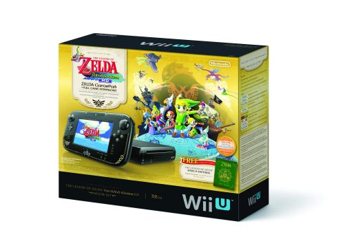 The Legend of Zelda The Wind Waker HD Wii U Bundle