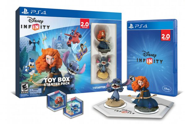 Disney Infinity Toy Box Starter Pack - PS4-L