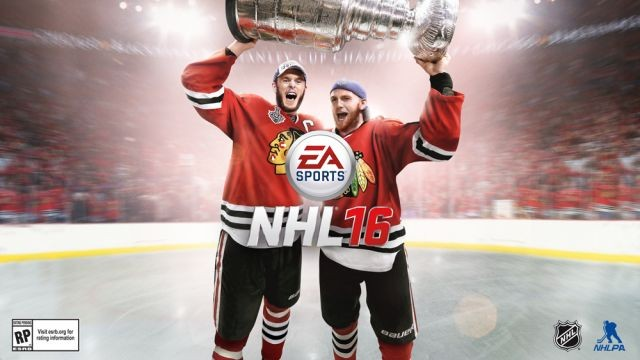 NHL 16 Cover Announcement