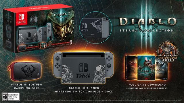 Nintendo Switch Diablo Bundle Box